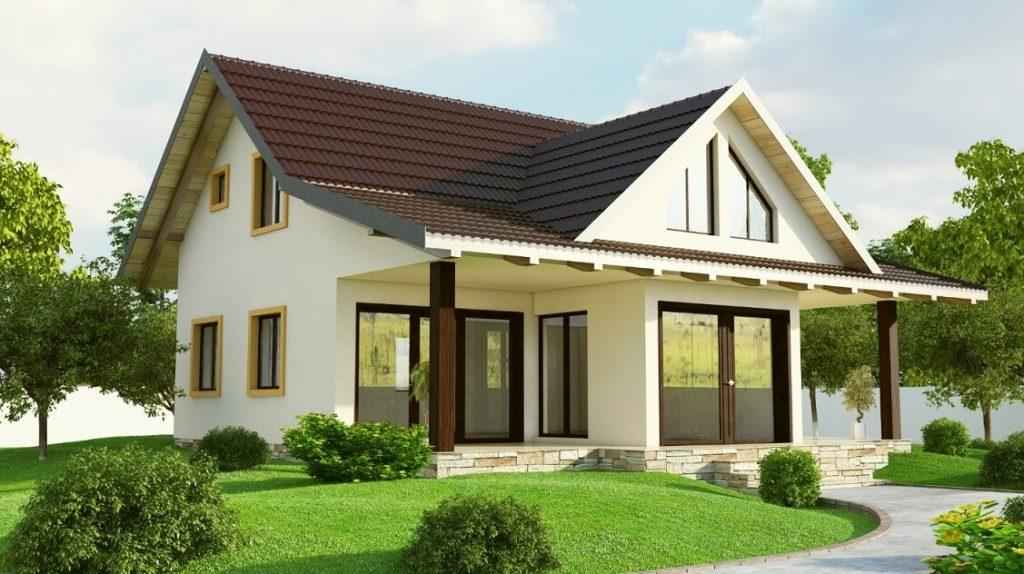 Case din lemn foarte ieftine mansarda