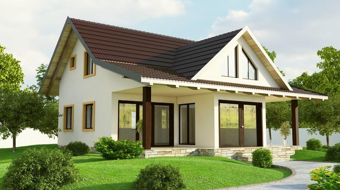 Case din lemn la cheie preturi 2020