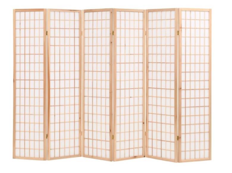 Paravan pliabil in stil japonez