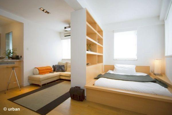 Perete despartitor pentru dormitor