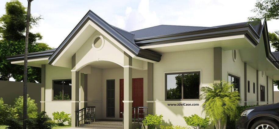 Case mici ieftine frumoase pe un singur nivel