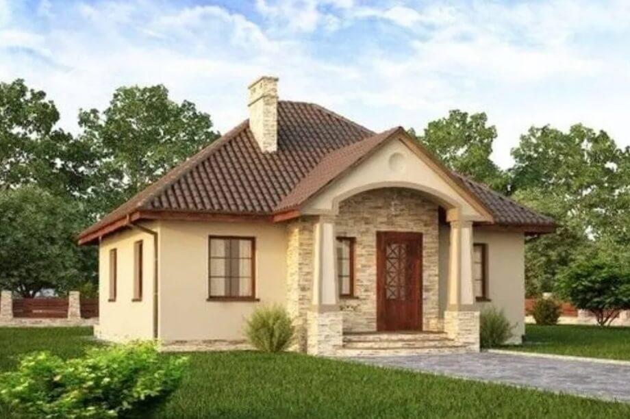 Proiecte case mici, frumoase, traditional
