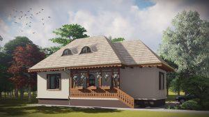 Proiecte case traditionale romanesti fara etaj