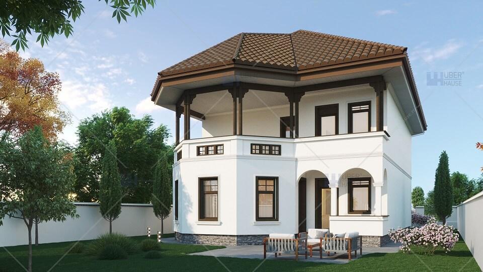 Proiecte case traditionale romanesti vila